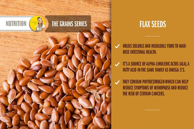 Healthy benefits of flax seeds