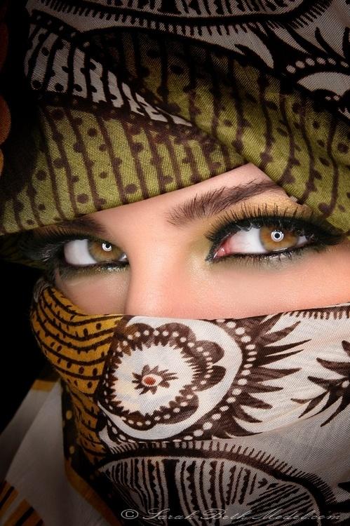 her eyes !