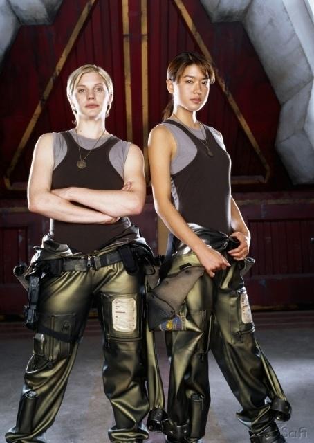 Battlestar Galactica | Katie Sackhoff & Grace Park