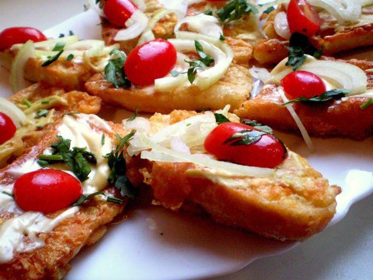 Rohlíkové smaženky se sýrem | Vaření s Tomem
