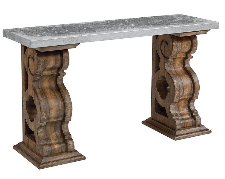 Magnolia Home - Double Pedestal Console Table