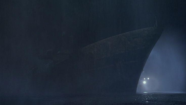 Ghost Ship, 2002, horror, Steve Beck, Gabriel Byrne, Julianna Margulies, Ron Eldard, Desmond Harrington, Isaiah Washington, Karl Urban, Alex Dimitriades, Emily Browning, Francesca Rettondini