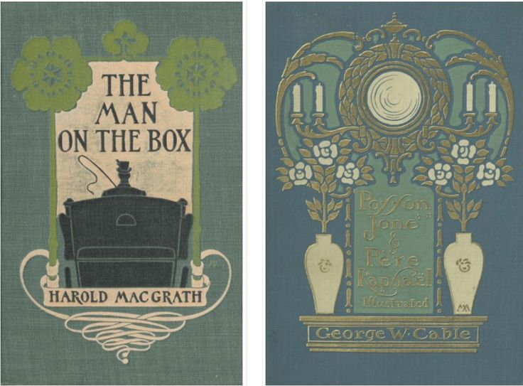 Le curieux Monsieur Cocosse   Journal: Art Nouveau book covers   Margaret Neilson Armstrong (1896 -1919)