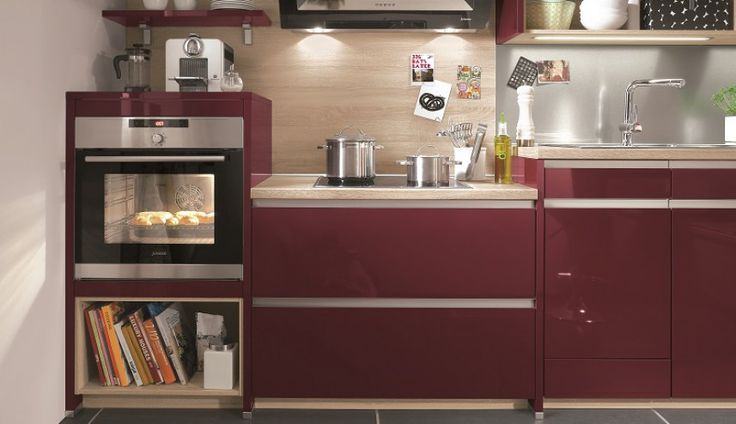 Wpuść do swojej kuchni kolor dojrzałej czereśni <3 http://www.mega-meble.pl/produkt-Primo-267