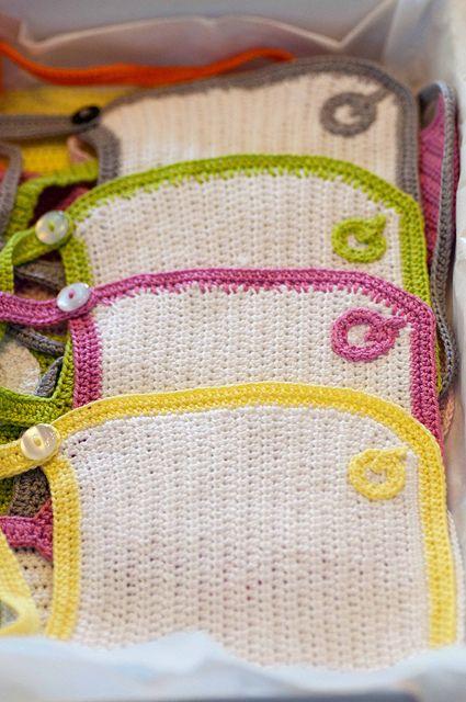Q for Quintin :)  photo by PHILZ  crochet bibs