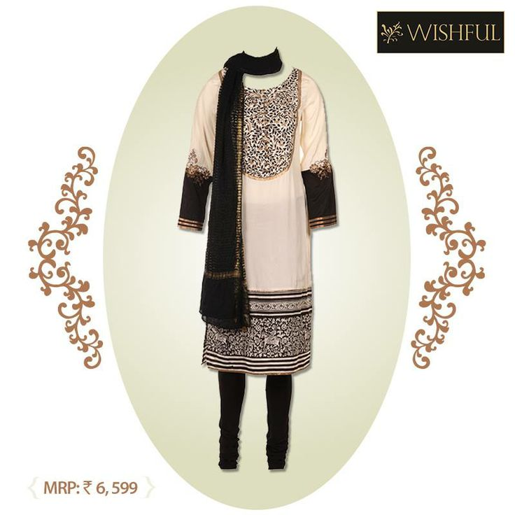 If you are planning to head out for a family get together, don this gorgeous #SKD and see how it makes heads turn! Accessorize it well to accentuate the look. Own this here : www.shopforw.com