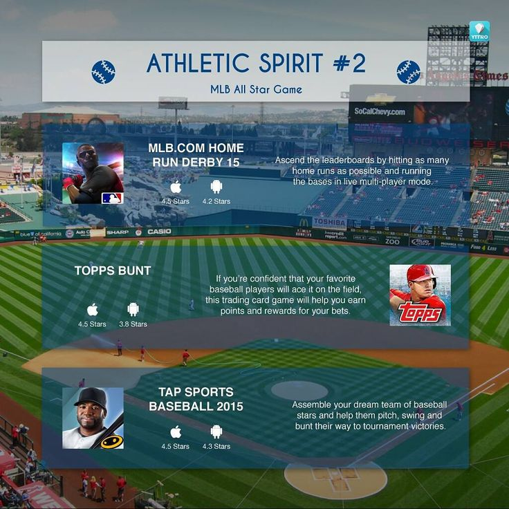 Inspired by #MLBAllStarGame ? Master your own baseball skills with these games. #mobilegames #indiedev #appgames http://t.co/riGhniFm4r