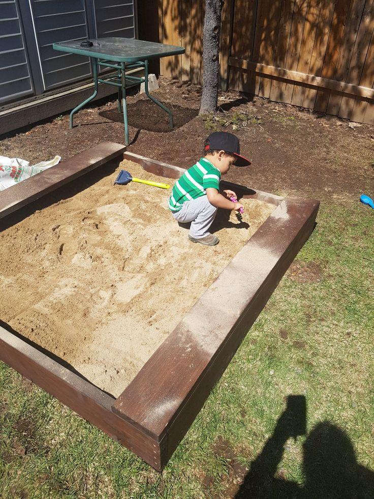 Backyard Sandbox Ideas top 10 creative and fun outdoor diy kids projects campinglivezcampinglivez A Perfect Backyard Sandbox