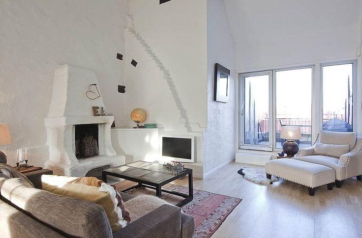 Пентхаус в Стокгольме с видом на Балтийское море - Дизайн интерьеров | Идеи вашего дома | Lodgers