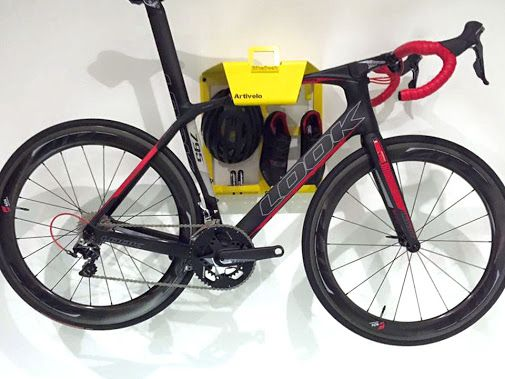 Bike Storage on the wall by Cranc Cyclesport
