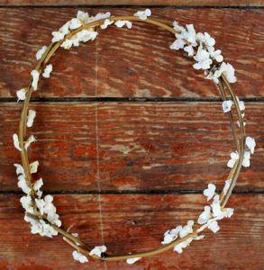 diy couronnes de fleurs originales wedding hair flowers mariage and wedding. Black Bedroom Furniture Sets. Home Design Ideas