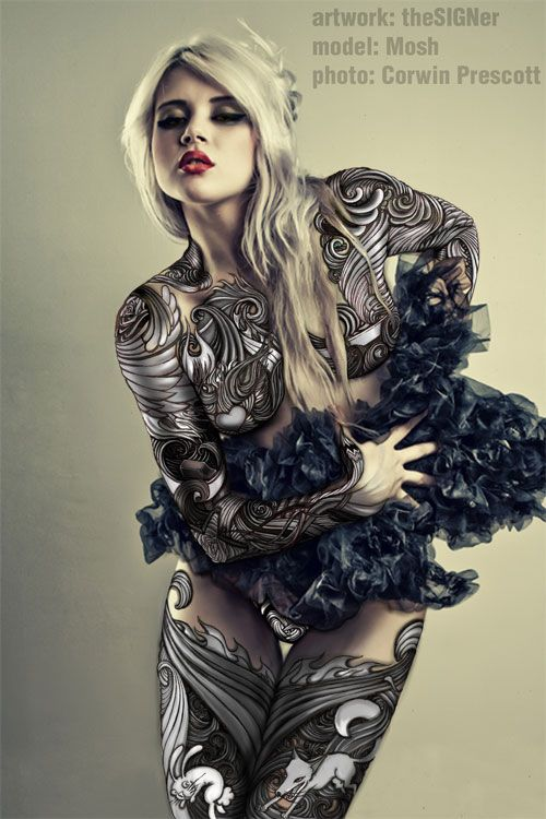 Black and White my Colours by ~theSIGNer on deviantART
