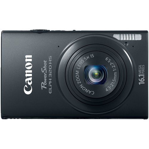 Canon PowerShot ELPH 320 HS 16.1 MP Wi-Fi Enabled CMOS Digital Camera with 5x Zoom 24mm Wide-Angle Lens with 1080p Full HD Video and 3.2-Inch Touch Panel LCD (Black)    for more details visit :http://photocamera.megaluxmart.com/