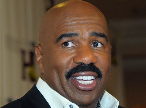 """Emmy Award-winning TV host and best-selling author Steve Harvey advises women not to date atheists because you don't know where the man's """"moral barometer"""" is, and says that as far as someone not beli"""