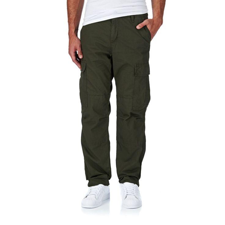 Men's Carhartt Cargo Pants - Carhartt Regular Cargo Pants - Cypress Rigid