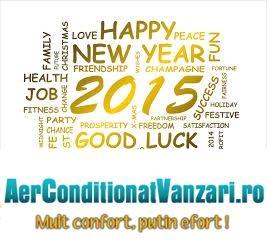 Echipa AerConditionatVanzari.ro va ureaza un an nou fericit !