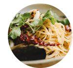 Pasta med grillade grönsaker och ricottacreme - City Gross