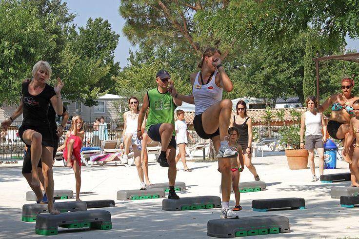 Camping***** Le Soleil Vivarais - Sampzon #Camping #Ardeche #Soleil #Sport #Gym