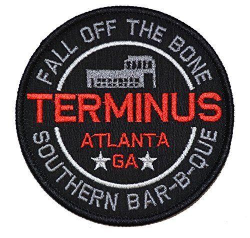 Terminus Southern Barbecue Walking Dead Parody 4in Diameter Patch Zombie Tactical Gear Junkie