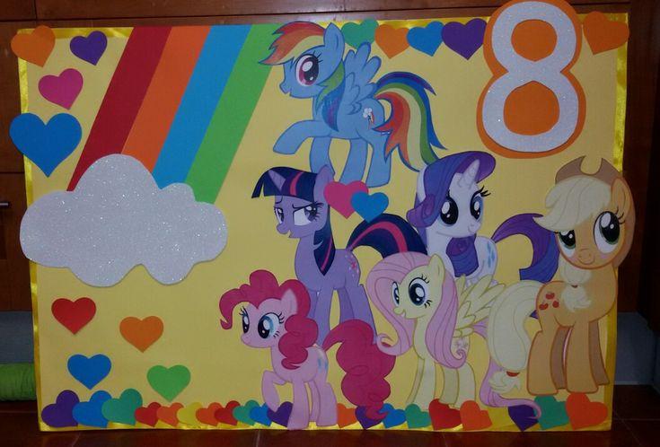 My little pony Decoração