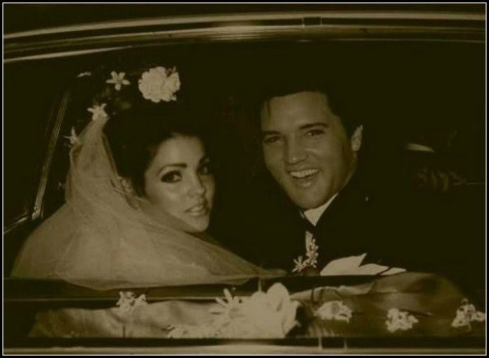 rare photos of elvis and priscilla