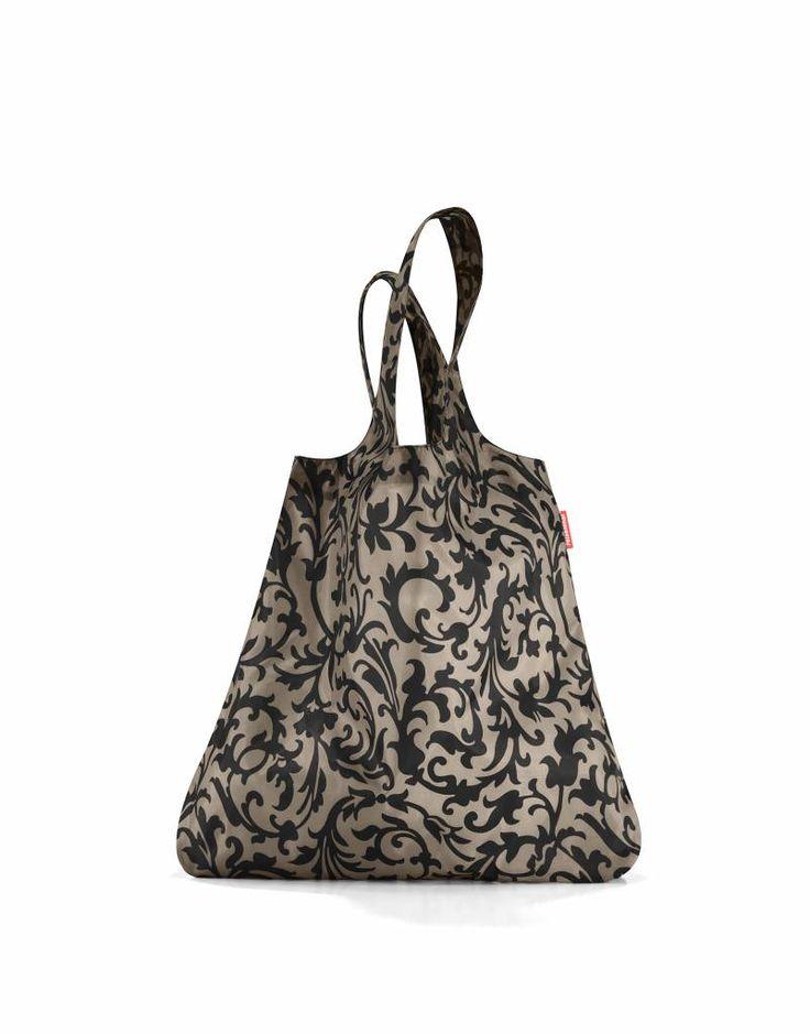 Reisenthel - mini maxi shopper baroque taupe - Mebracelet #mebracelet #minimaxishopper #shoppingbags #onlineshopping #fashion