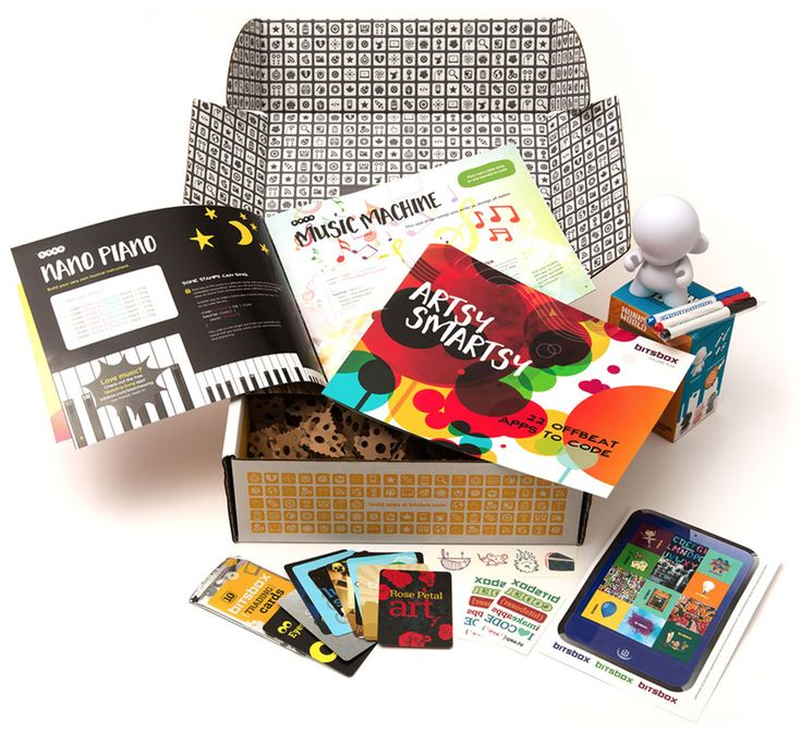 Bitsbox arrives at your door with dozens of programming projects ready to code.