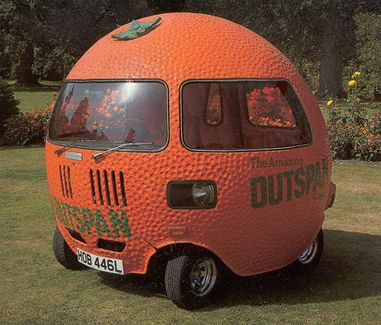 Think I can make heads turn in this Orange-mobile? ;oP