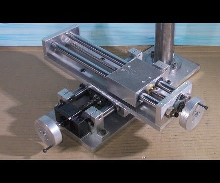 Homemade Mini Pcb Milling Router Mill Diy X Y Stage Frame
