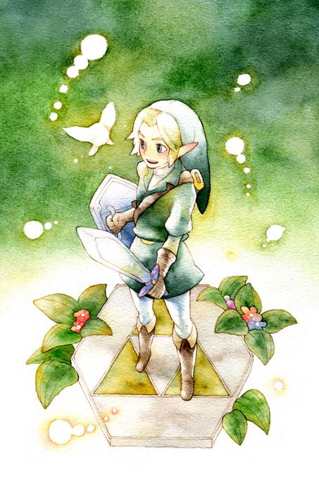 Link | Legend of Zelda I want this picture hanging in my house.