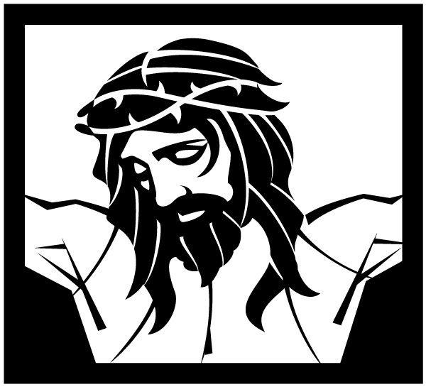 Jesus thorn crown | Stencils | Pinterest | Crowns and Jesus