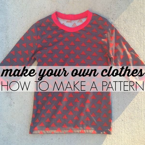 Make Your Own Clothes: How to Make a Pattern | Prendre du papier épais (rouleau ikea) & comment reprendre l'emmanchure