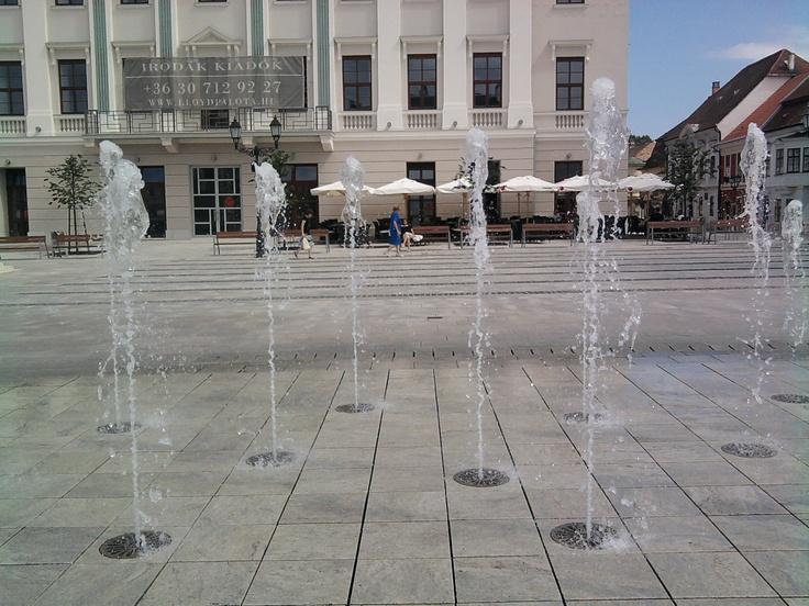 Győr, my favorite fountain.