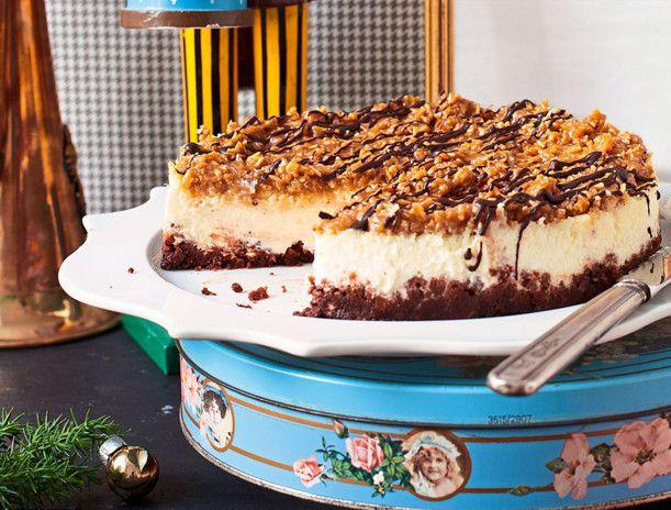 Unser beliebtes Rezept für Samoa-Cheesecake und mehr als 55.000 weitere kostenlose Rezepte auf LECKER.de.