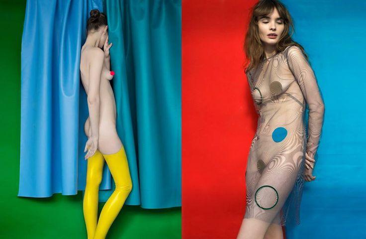 SICKY magazine Photo: #KasiaBielska Style: #AsiaWysoczyńska MUA: #SławekOszajca Set: #NataliaMleczak  #AtsukoKudo #MichalSzulc