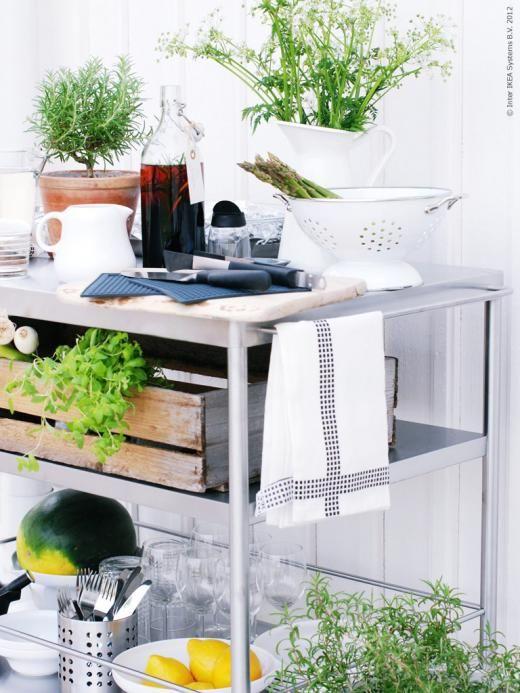 Weronica gillar sommar grilla redaktionen inspiration fr n ikea interior design - Ikea outdoor kitchen cabinets ...