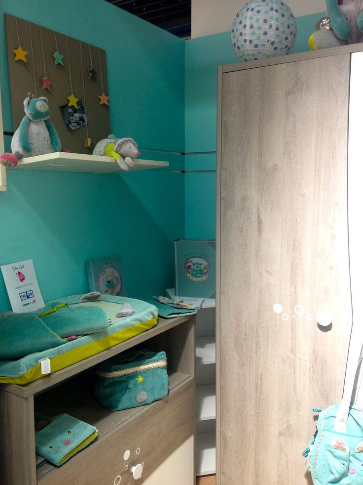 La nouvelle chambre ga a de b b lune par autour de b b for Autour de bebe portet
