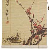 Found it at Wayfair - Oriental Furniture Sakura Blossom Rayon Roller Blind