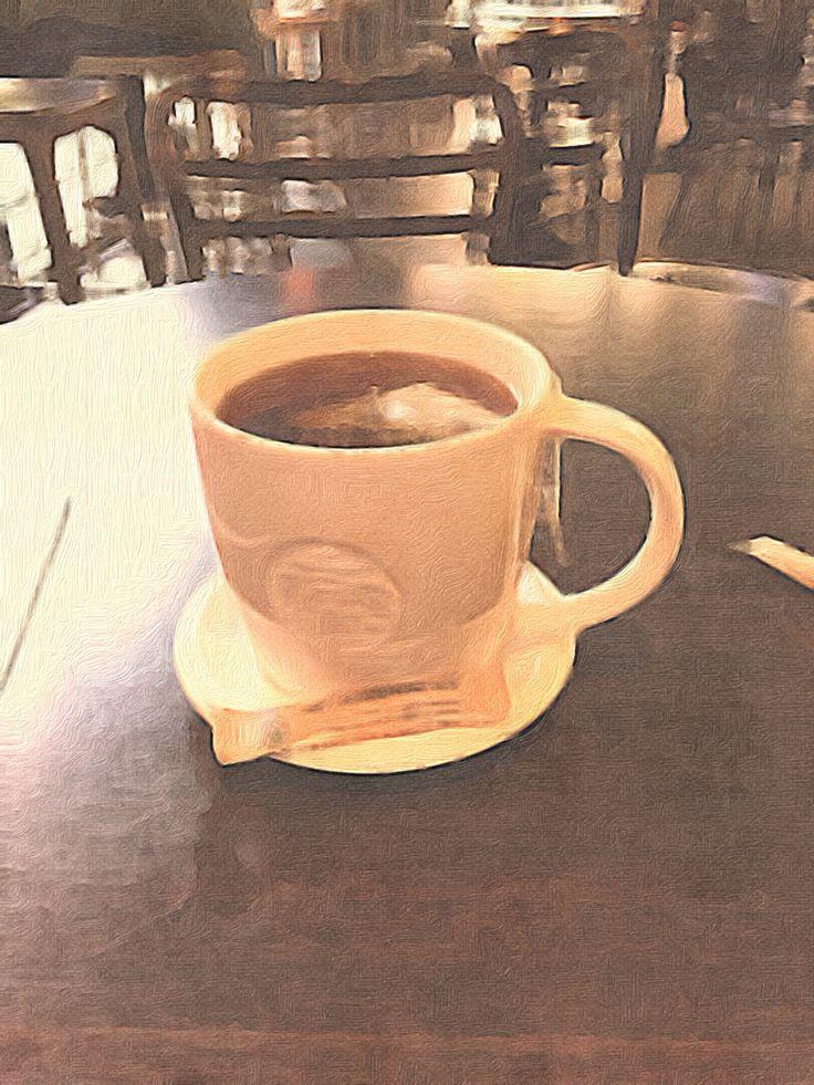 A coffee break in Berlin.