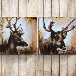 The magical grand Elk! Unna dig en lyxig 2-delars handmålad ren tavla! De snygga detaljerna och magiska motivet på denna canvastavla ökar definitivt mysfaktorn i hemmet  Länk till produkt: http://www.feelhome.se/produkt/the-magical-grand-elk/  #Homedecoration #Canvas #olipainting #art #interior #design #Painting #handpainted #interiordesign #canvastavla #canvastavlor #animal #djur #ren #grand #elk #natur #Vardagsrum #Kontor #Modernt