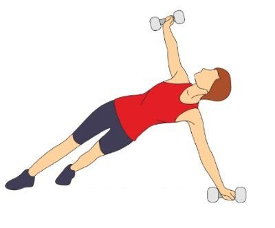 """Muchas mujeres luchan para eliminar grasa de la espalda, también conocida como """"grasa del sostén"""" o """"lonjitas del sostén"""". Aquí hay una serie de ejercicios"""