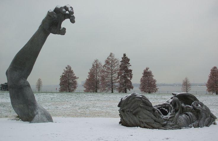 See more pictures http://666travel.com/the-awakening-sculpture-washington-dc-usa/ (The Awakening Sculpture - Washington DC, USA)