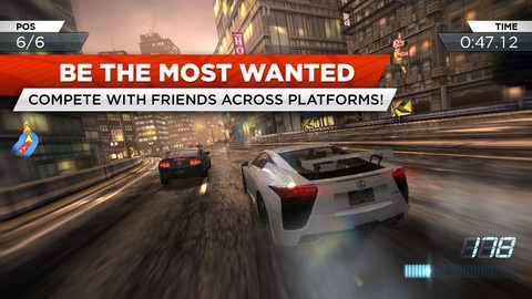 Need for Speed™ Most Wanted v1.0.0 Iphones Gmaes