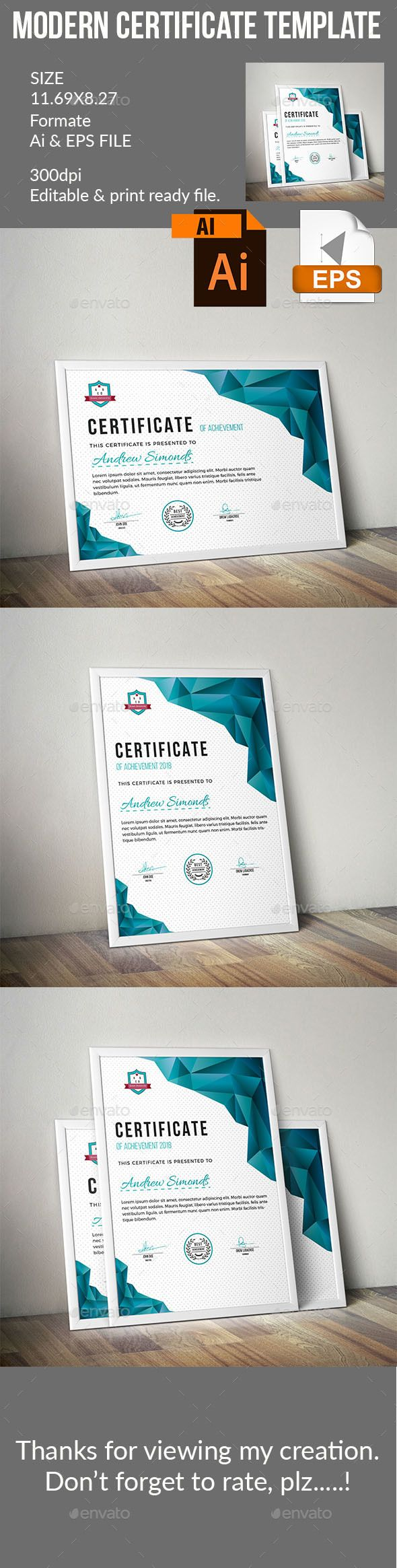 135 best award certificates images on pinterest award certificate template yadclub Gallery