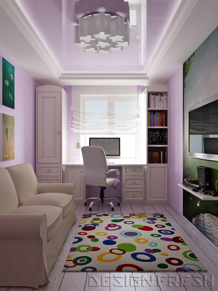 Интерьер комнаты для школьника фото