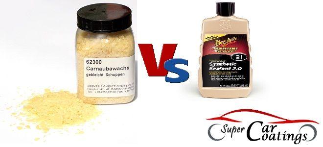 Carnauba Wax Vs Synthetic Polymer Sealant