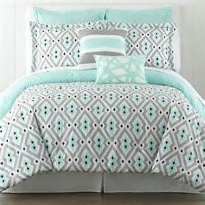 Coral Teal And Grey Floral Comforters Bing Images New