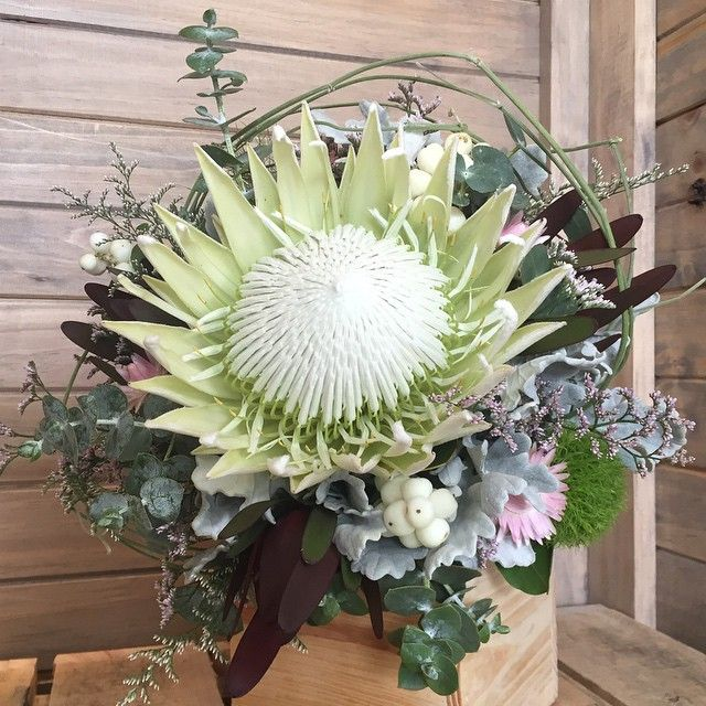 Native flowers, Kind Protea bouquet from Twigs Florist Varsity Lakes