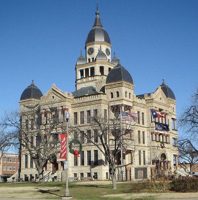 Old Denton County Courthouse - Denton, Texas
