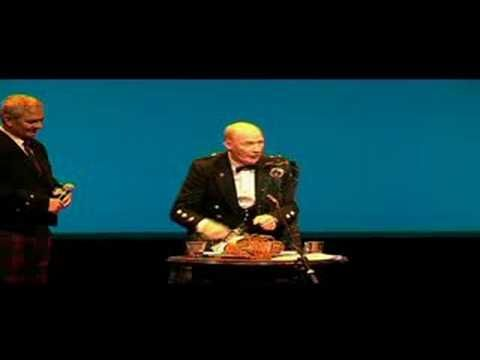 """Well done """" Address to a Haggis"""", for Burns Night"""